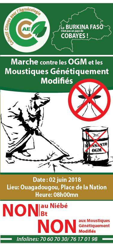 Yelemani marchera contre les OGM le 2 juin 2018