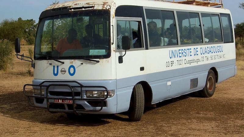 Visite des étudiants de la promotion 2013-2014 de la filière AGRINOVIA de l'université de Ouagadougou