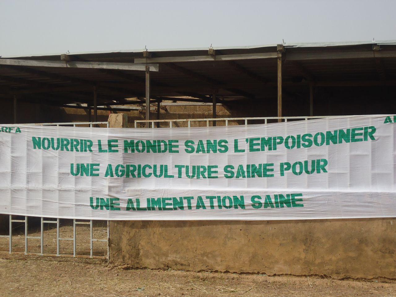 Journées promotionnelles des produits écologiques-biologiques à Niessga